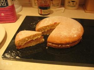 reduced sugar cake