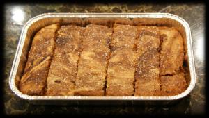 carob marble slices