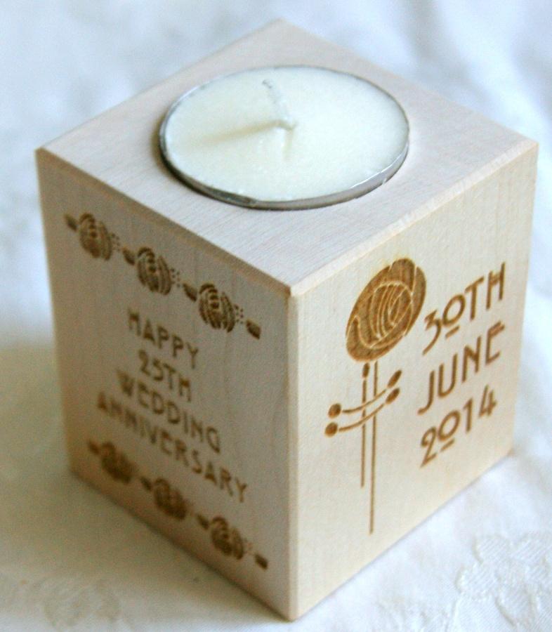 Tealight holder 0031 wooden