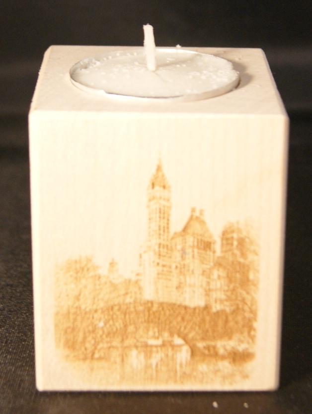 Tealight holder 0106 wooden