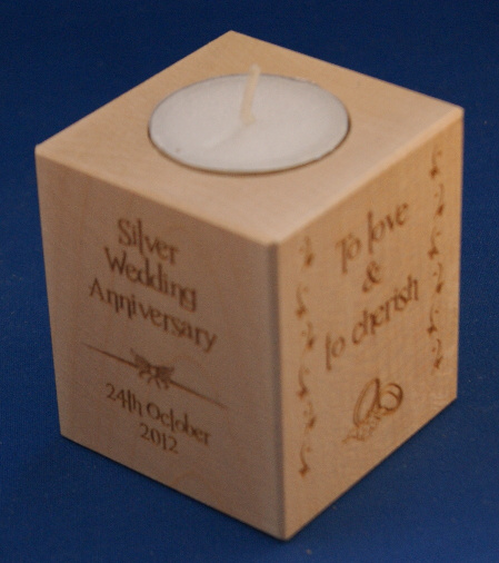 Tealight holder 0131 wooden