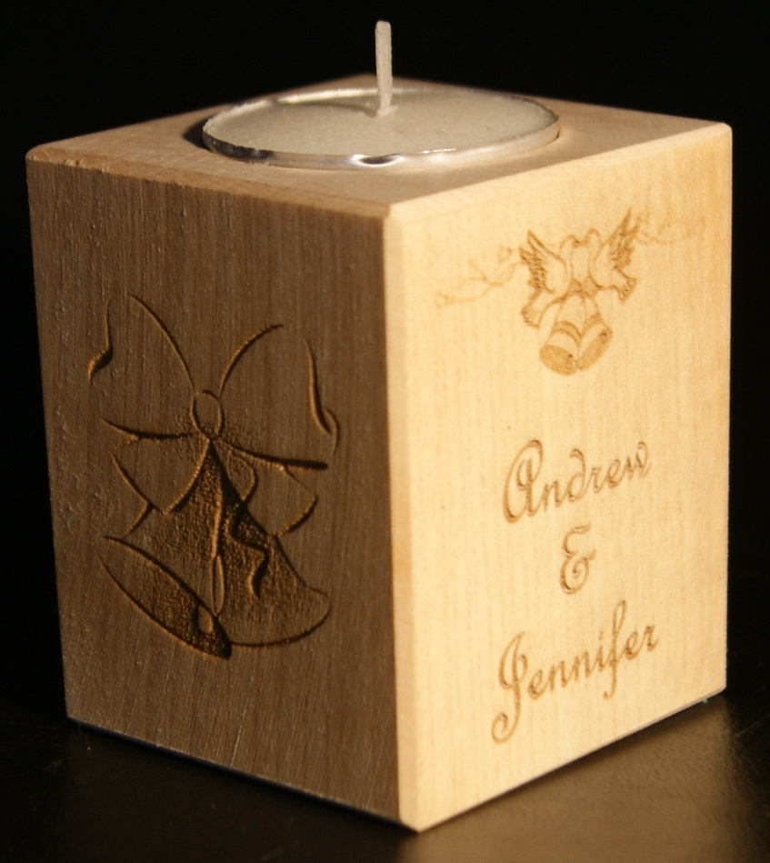 Tealight holder 0161 wooden