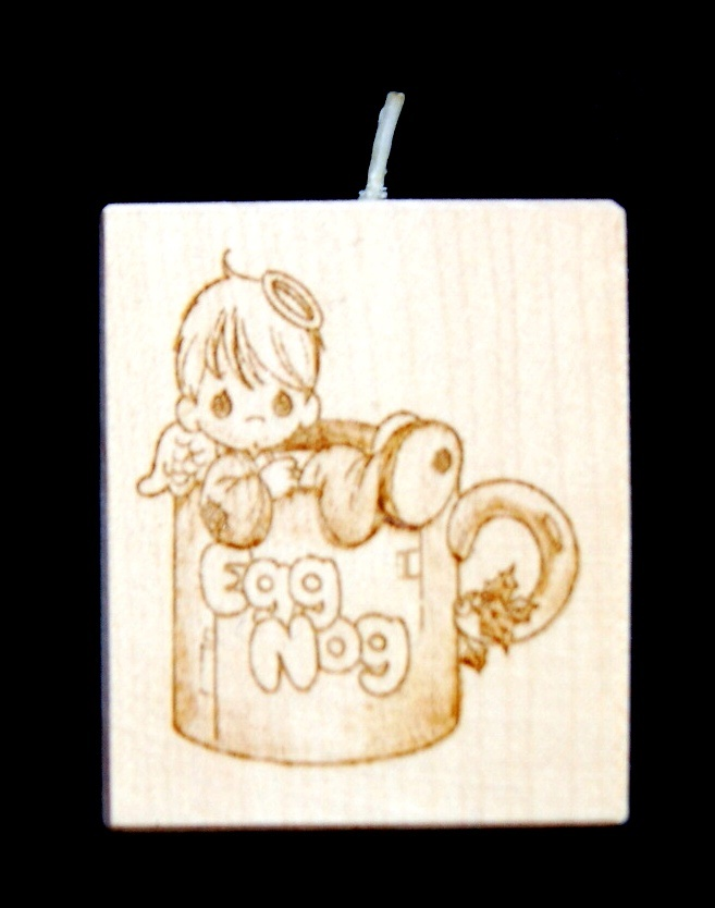 Tealight holder 0176 wooden