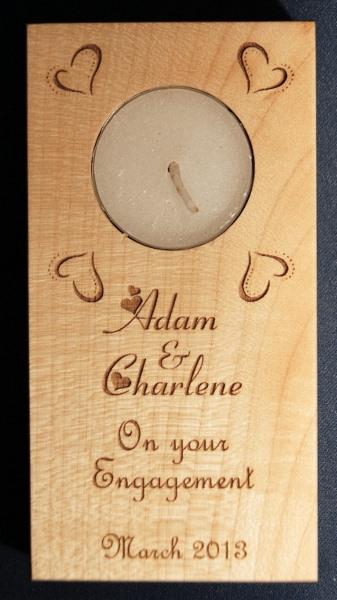Tealight holder 0207 wooden