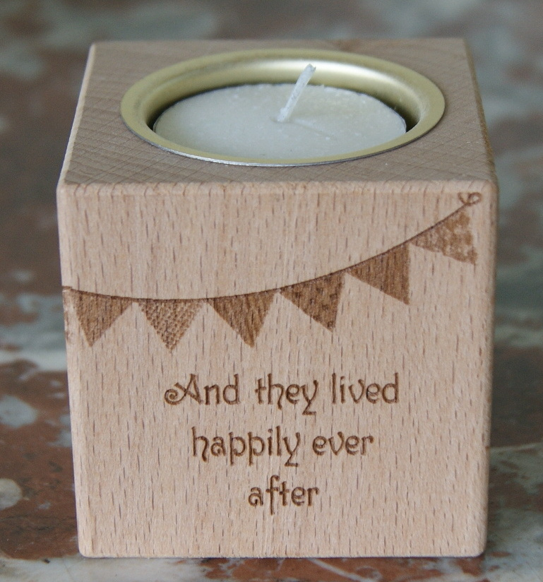 Tealight holder 0323 wooden