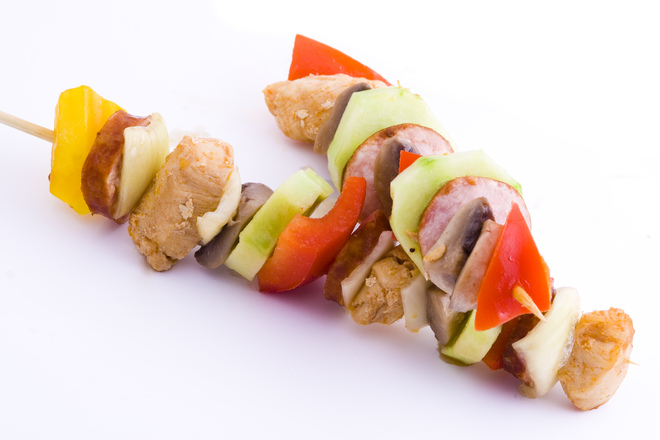 Turkish style Chicken Kebab Recipe - Dairy and Gluten free
