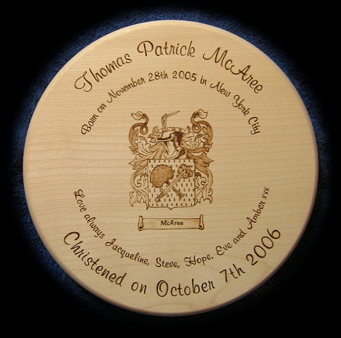 Coat of arms stool 03