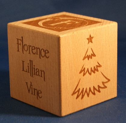 christmas memory cubes 05 engraved