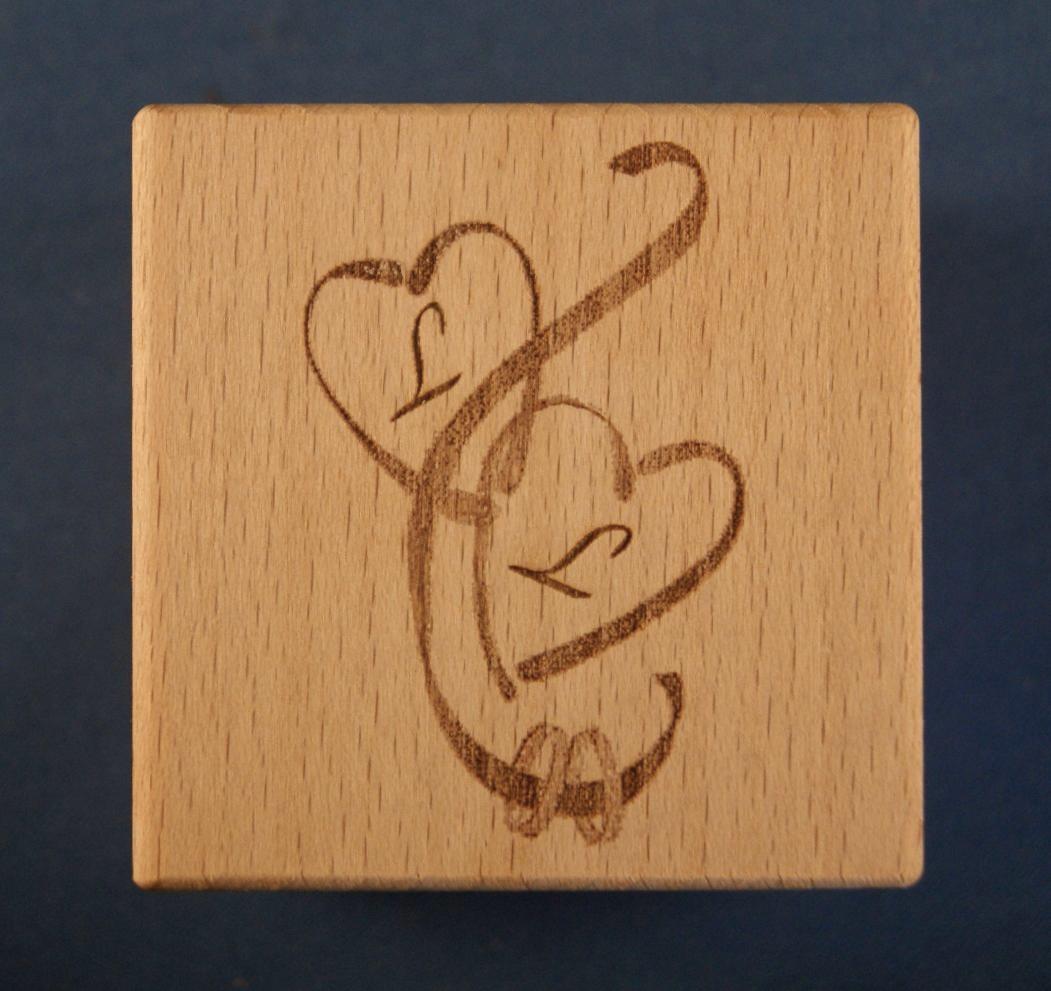 personalised baby blocks1004 engraved