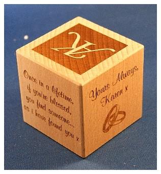 personalised baby blocks1055 engraved
