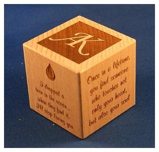 personalised baby blocks1059 engraved