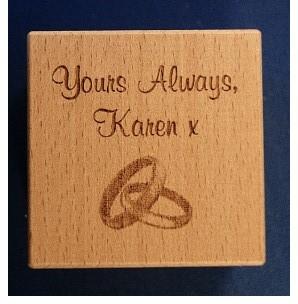 personalised baby blocks1062 engraved
