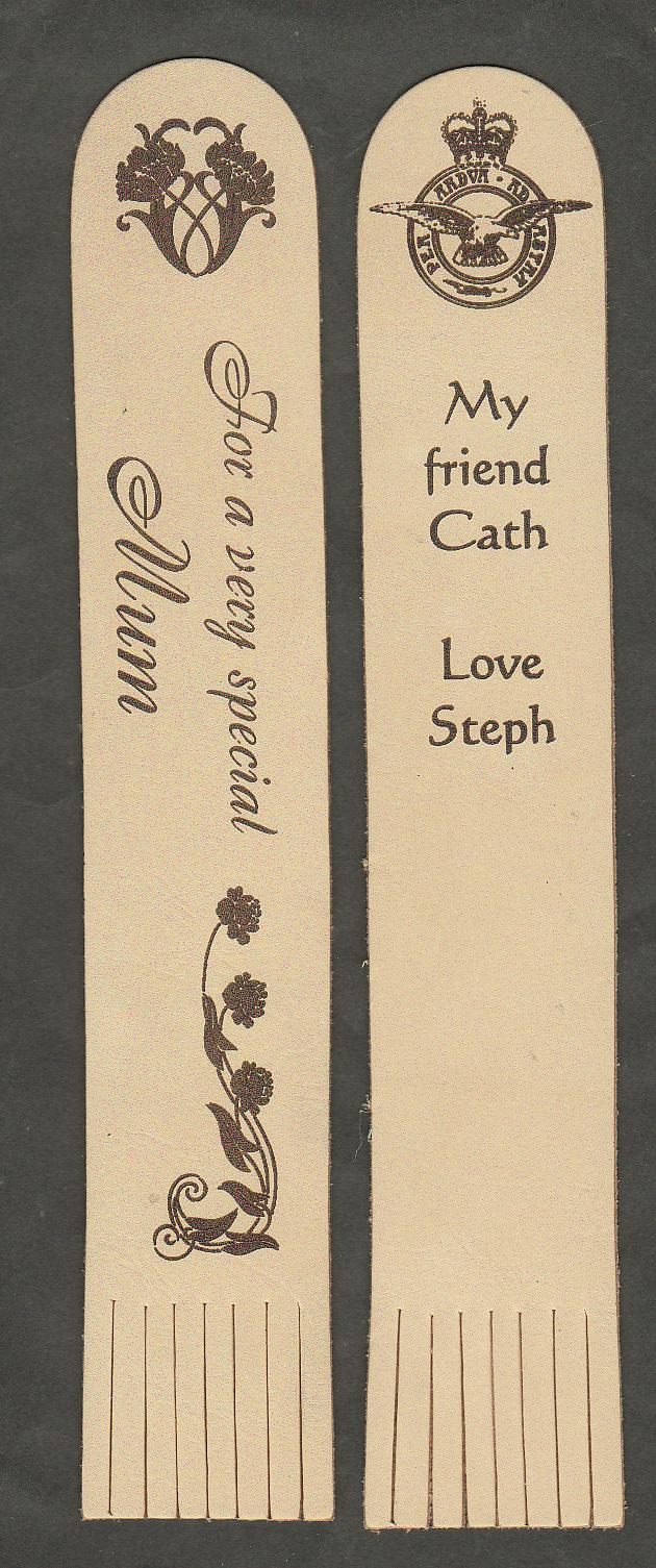 raf bookmark