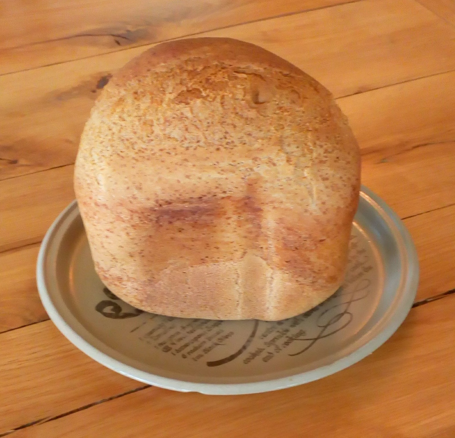 Perfect Gluten free Bread Machine Loaf