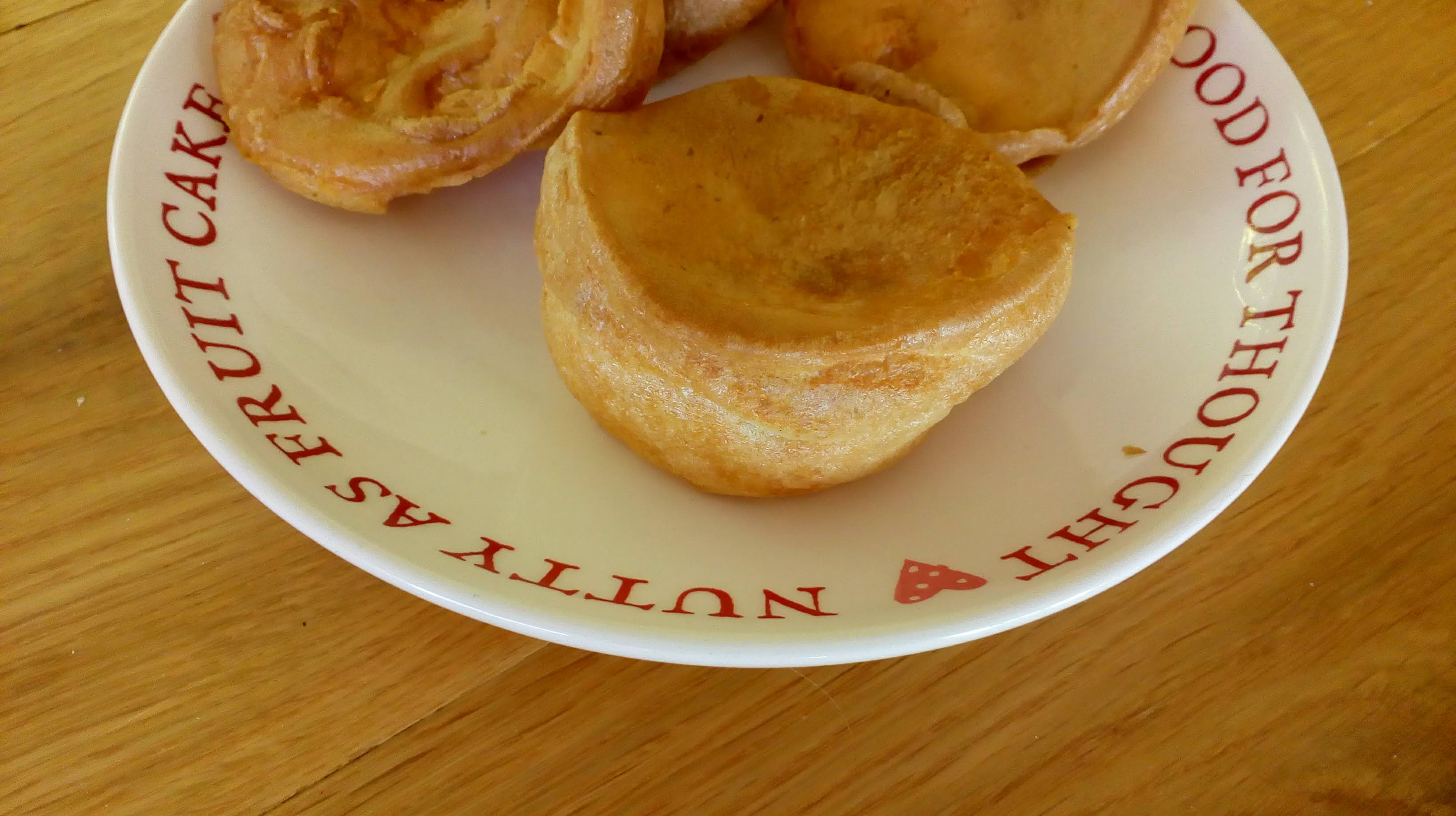 Dairy and wheat free yorkshire puddings