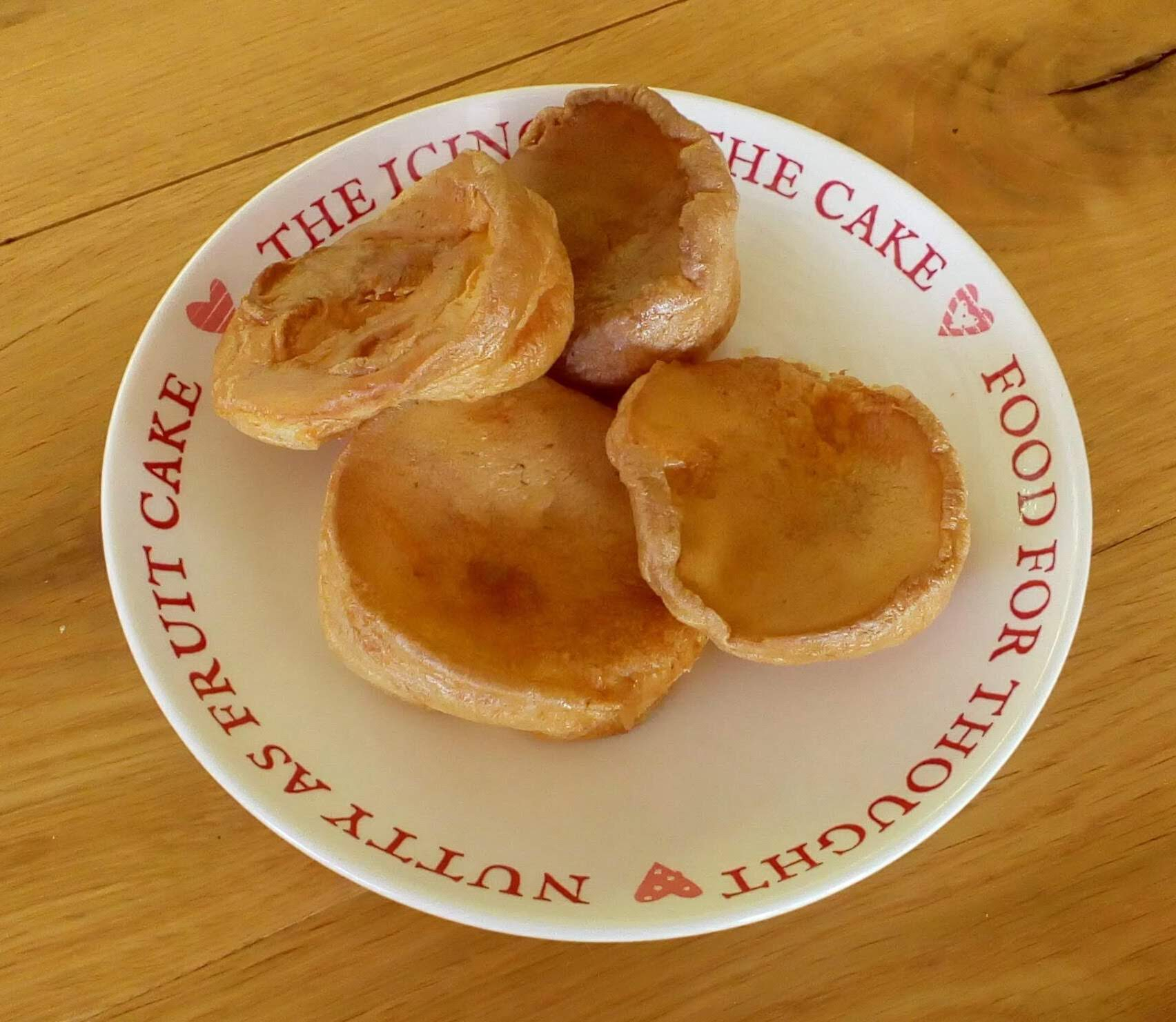 Wheat free and dairy free yorkshire puddings