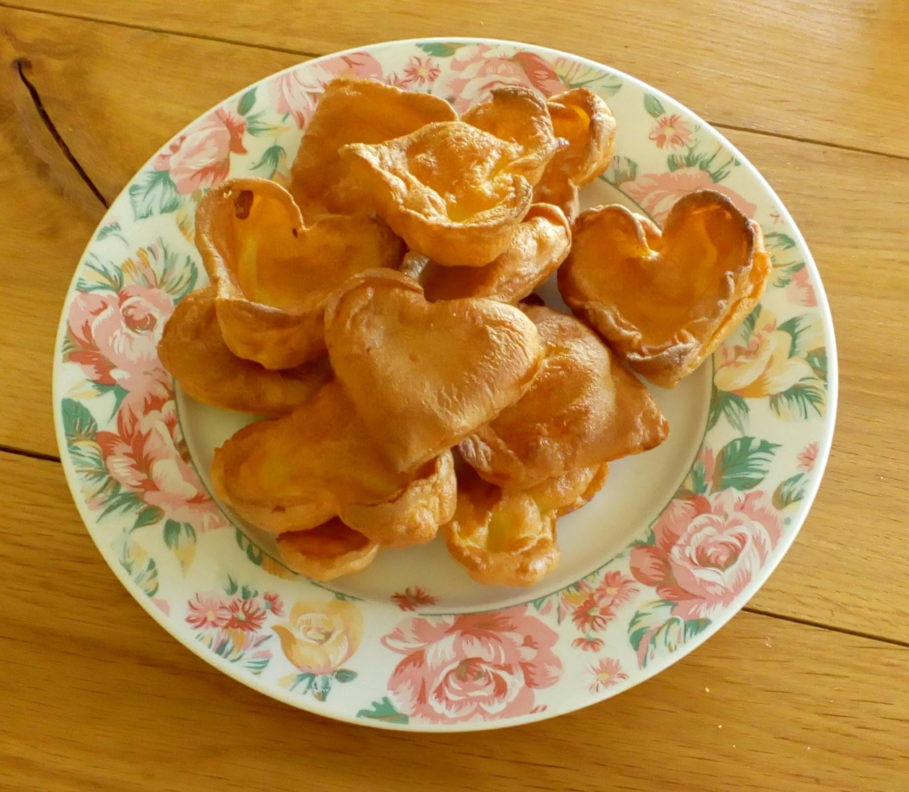 heart shaped diary free yorkshire puddings