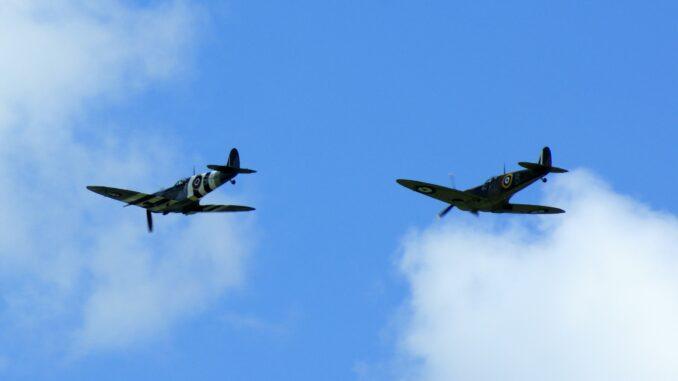 spitfires over ditchling