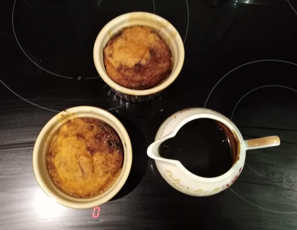 Gluten and dairy free sticky toffee puddings