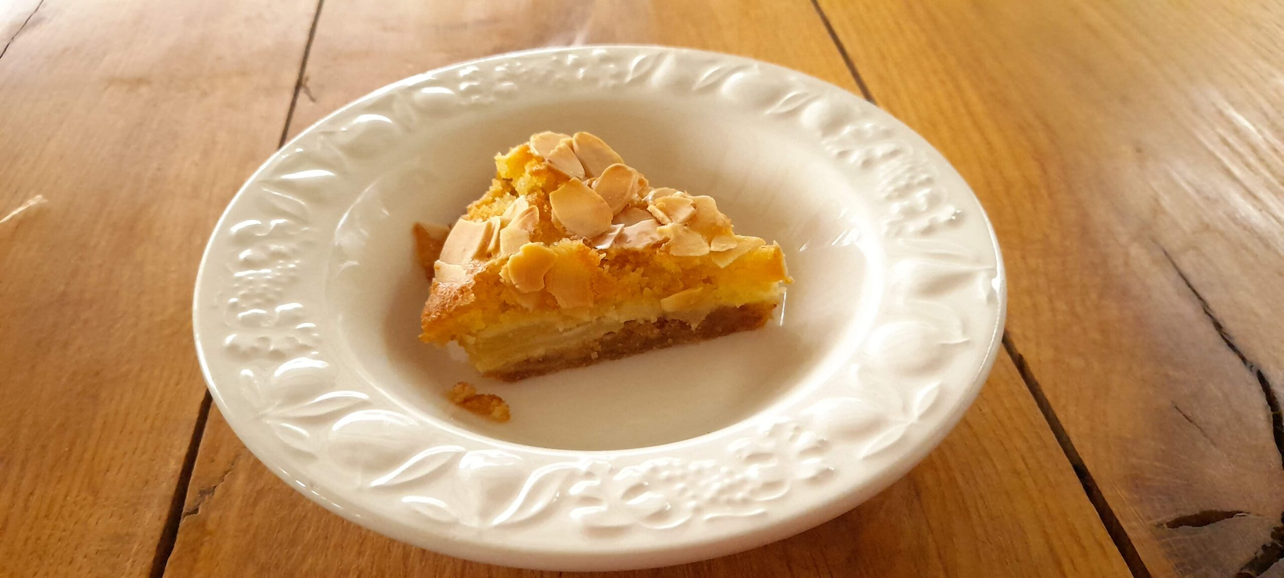 gluten and dairy free apple bakewell