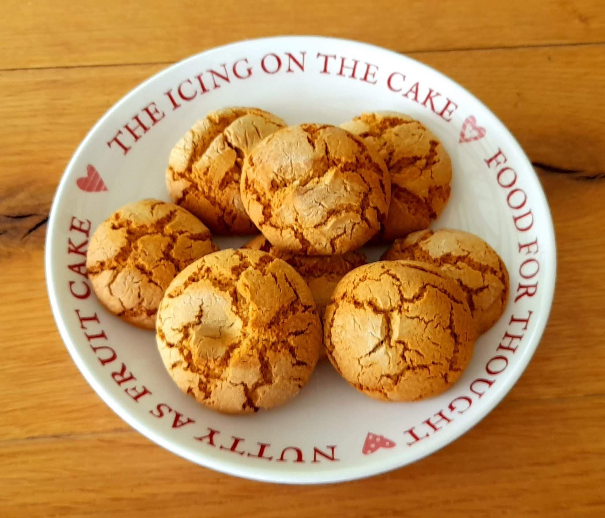 gluten and dairy free ginger biscuits
