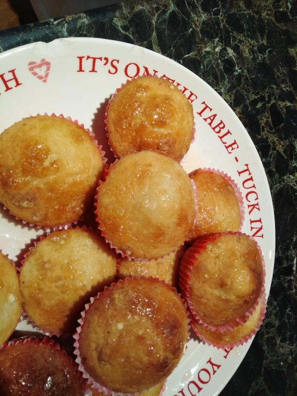 honey and lemon muffins dairy gluten free