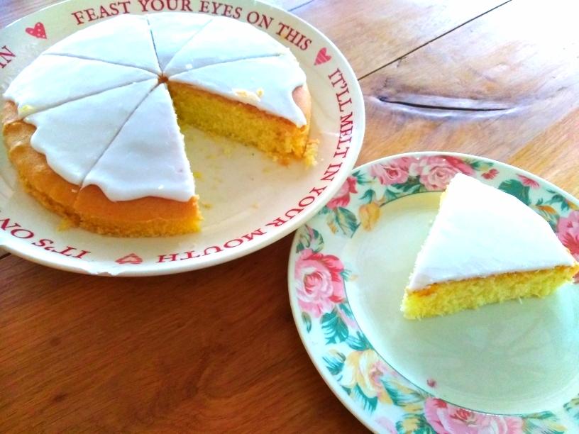 luscious lemon sponge dairy and gluten free